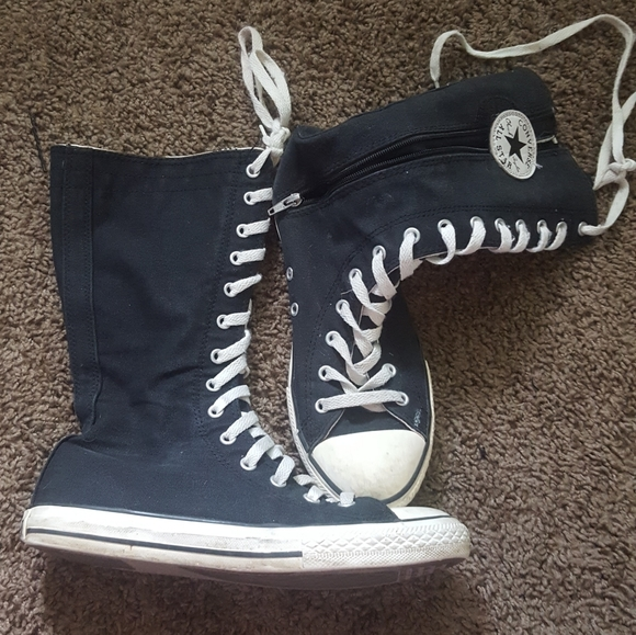 Other - Girls high top converse all star